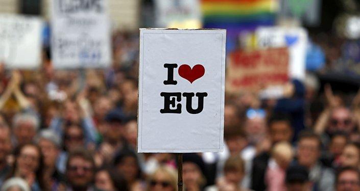 Los partidarios de la permanencia del Reino Unido en la UE (archivo)