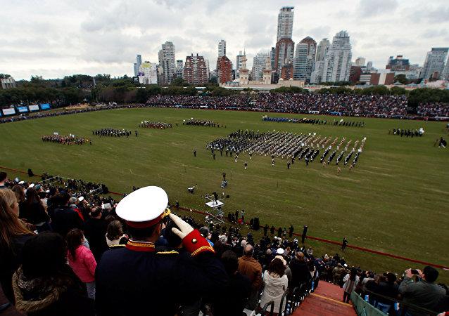Celebración del Bicentenario argentino