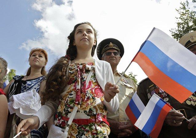La población de Crimea (archivo)