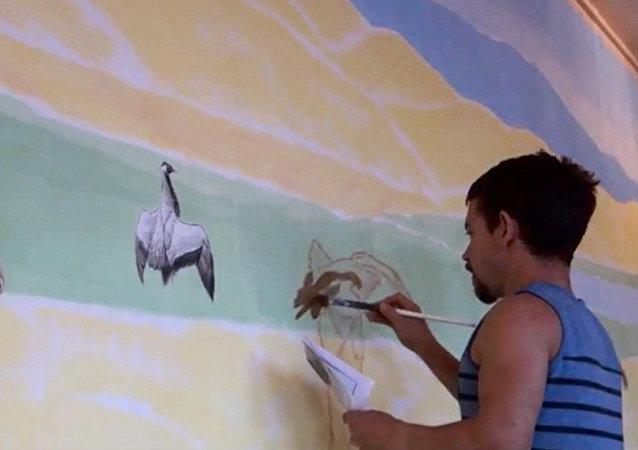 Rory McCain, pintor animalista británico