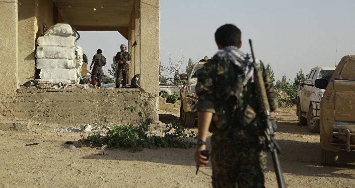 Milicianos kurdos en el norte de Siria (archivo)