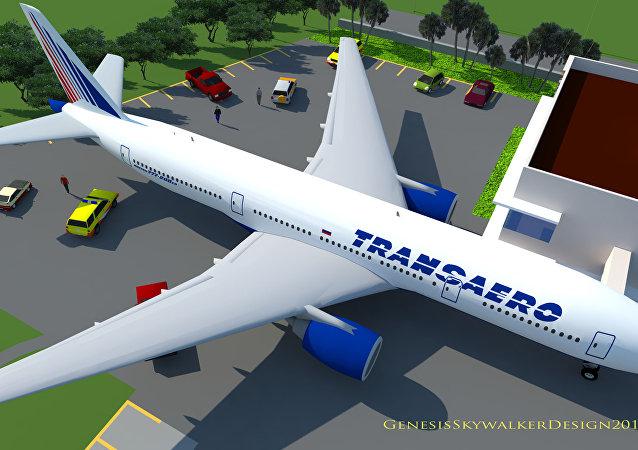 Un avión de Transaero