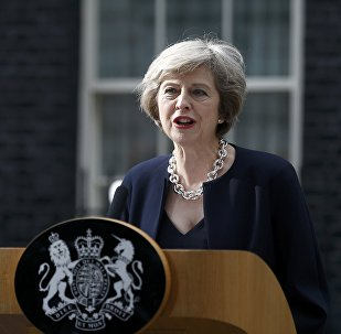 Theresa May, primer ministra de Reino Unido