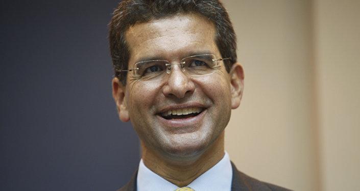 Pedro Pierluisi, comisionado residente de Puerto Rico en Washington