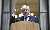 Boris Johnson, ministro brtitánico de Exteriores