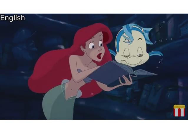 Las Princesas de Disney cantan en sus idiomas nativos