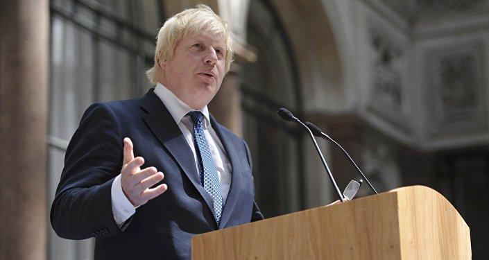 Boris Johnson, ministro británico de Exteriores