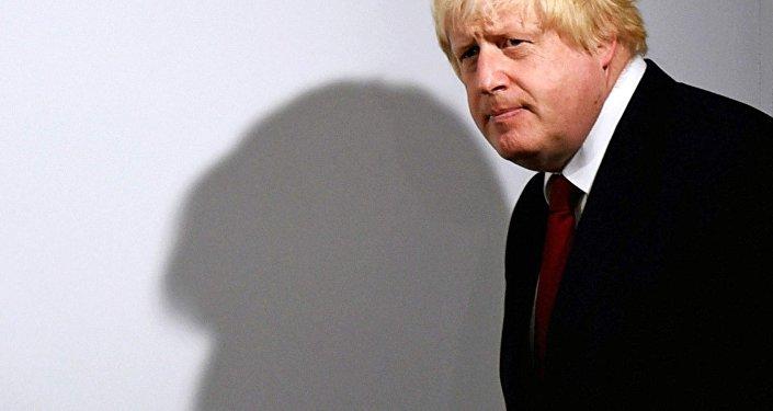 Boris Johnson, exministro de Exteriores del Reino Unido