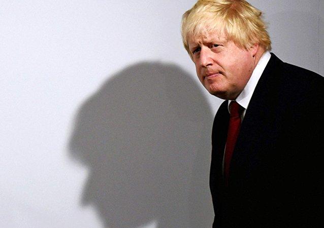 Boris Johnson, ministro de Asuntos Exteriores del Reino Unido