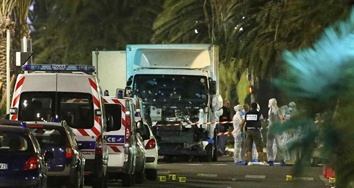 Situavión en Niza tras el atentado