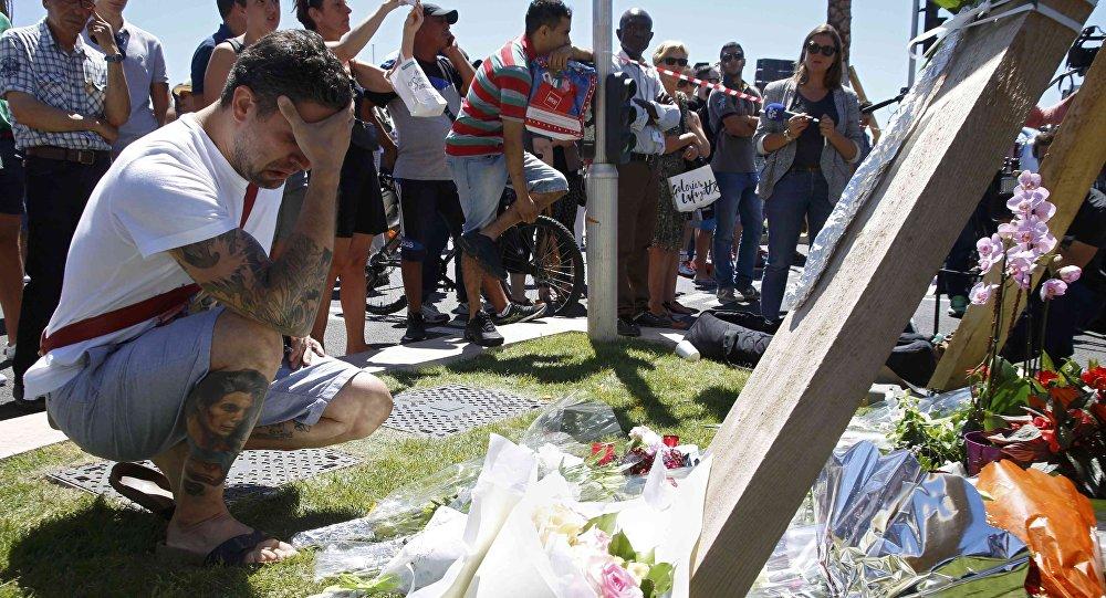 El ataque terrorista en Niza, Francia
