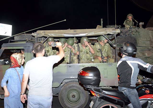 Militares turcos partidarios del golpe