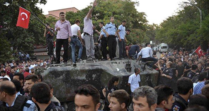 Situación en Ankara tras el intento de golpe de Estado en Turquía