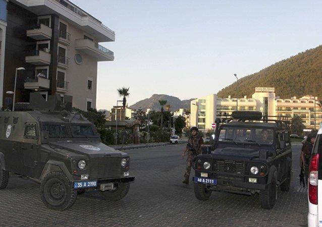 La situación en Marmaris tras el intento de golpe de Estado en Turquía