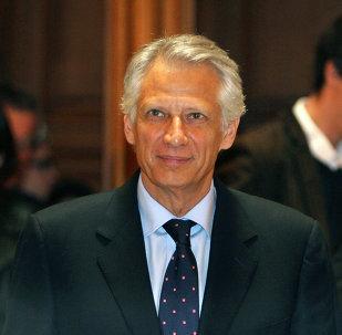 Dominique de Villepin, el ex primer ministro de Francia