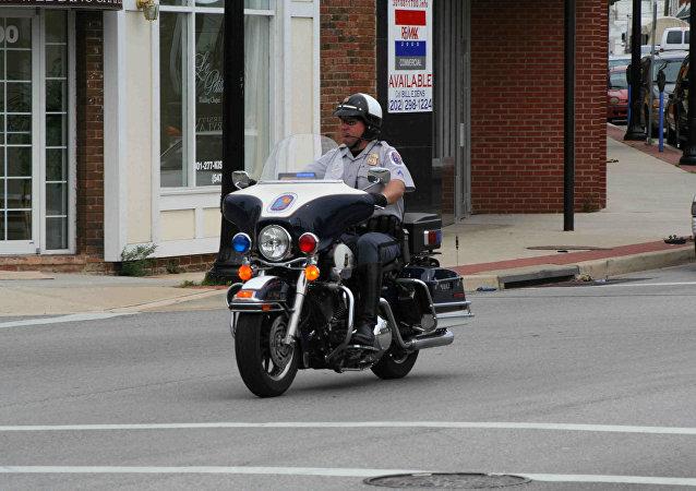 Agente de policía estadounidense
