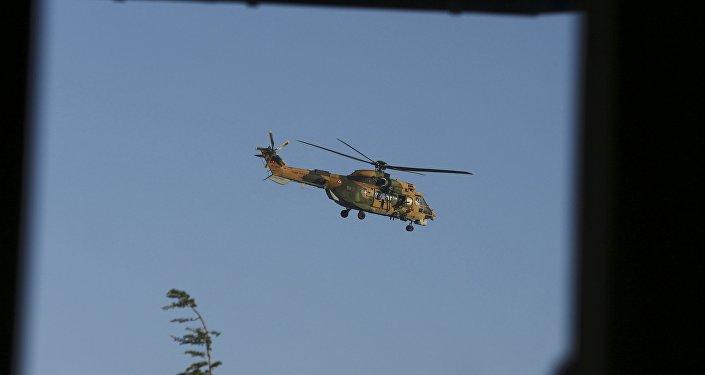 Helicóptero turco, Estambul