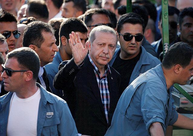 Recep Tayiip Erdogan, presidente de Turquía
