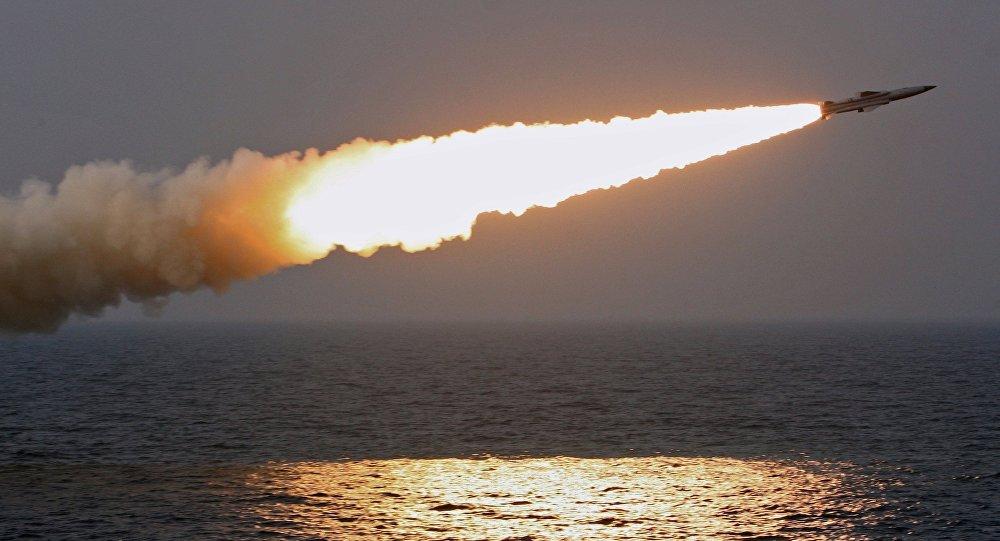 Un misil supersónico ruso Moskit