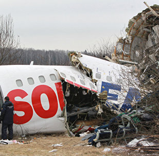 Accidente de Tu-154 en Smolensk (archivo)