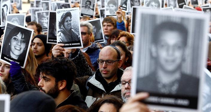Acto organizado por las principales organizaciones judías de Argentina para rememorar el ataque contra la Asociación Mutualista Israelita Argentina (AMIA)