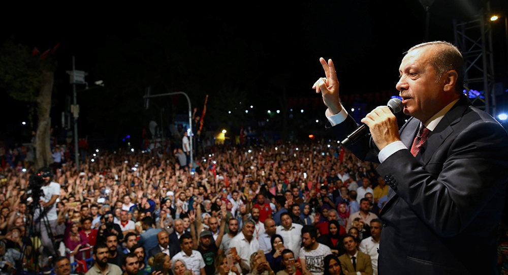 Recep Tayyip Erdogan, presidente de Turquía