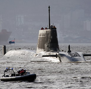 El HMS Astute de la Armada Real Británica