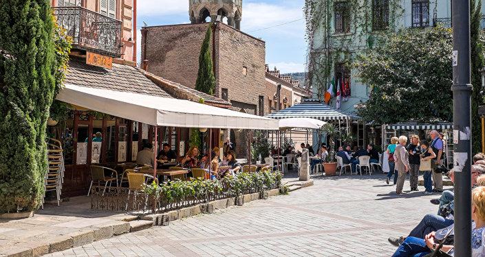 Tiflis, la capital de Georgia