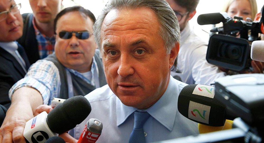 Vitali Mutkó, ministro de Deporte de Rusia