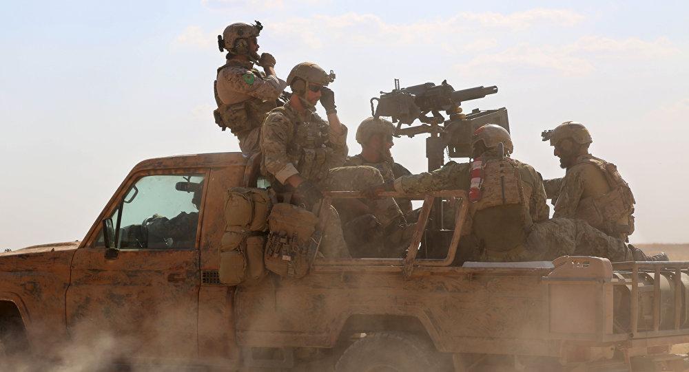 Las fuerzas especiales de EEUU en Siria (archivo)