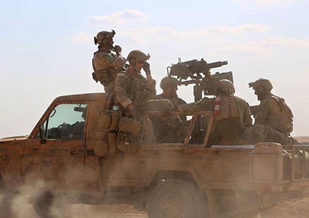 Fuerzas espesiales de EEUU en Siria, 25 de Mayo de 2016