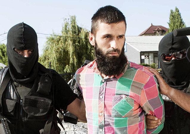 Yihadista es capturado en Kosovo (archivo)