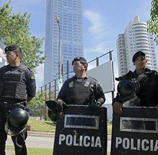 Policía uruguaya.