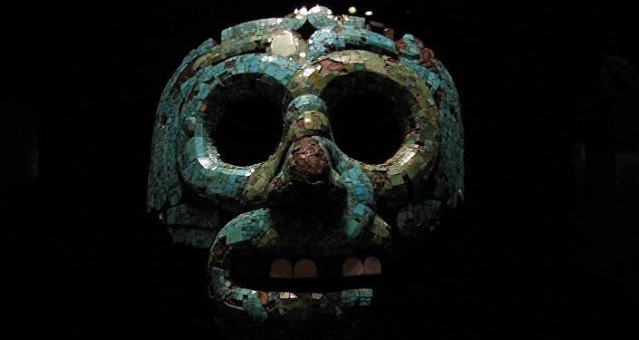 La máscara funeraria azteca