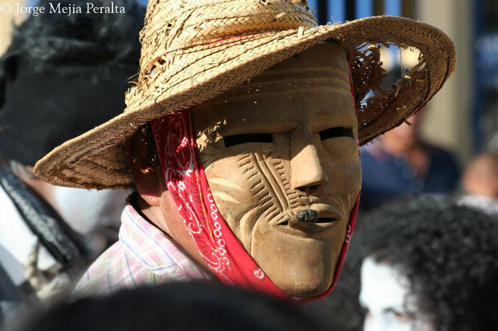 La máscara de disfráz