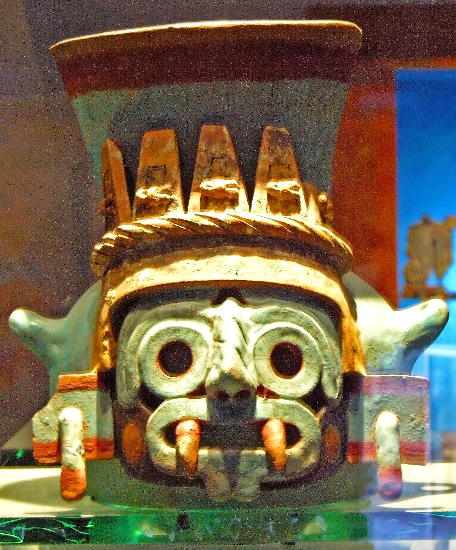 La vasija con el rostro de Tláloc