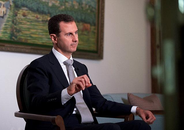 El presidente de Siria Bashar Asad