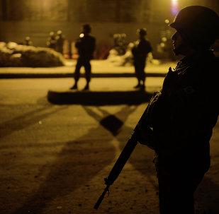Policias brasileños