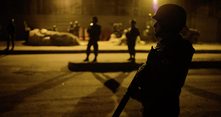 Policía de Brasil (archivo)