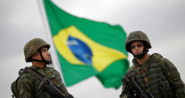 Militantes brasileños