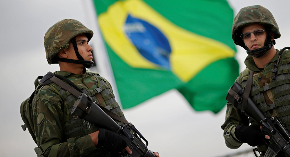 Marines brasileños