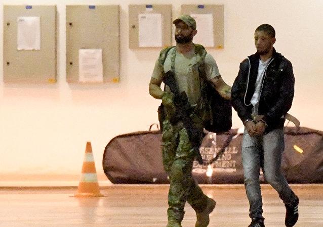 Supuesto terrorista detenido en Brasil
