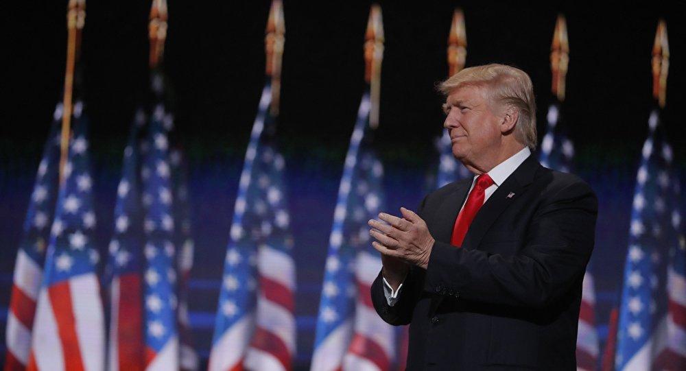 Donald Trump, candidato presidencial estadounidense por el Partido Republicano