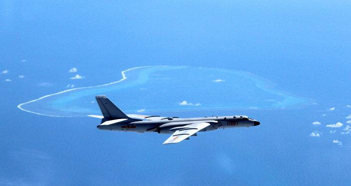 Un bombardero chino H-6K