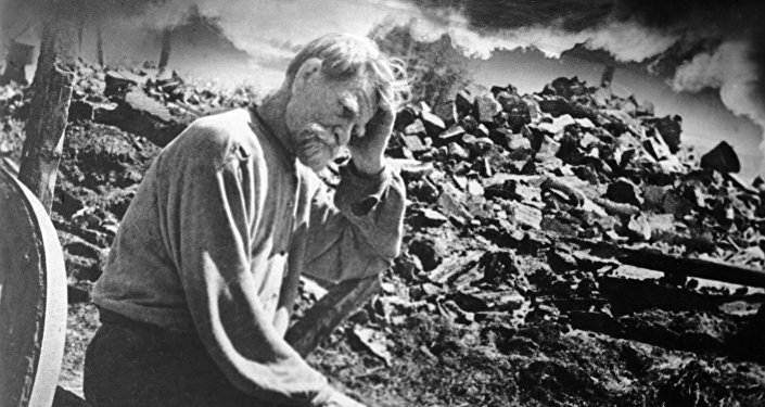 Las hostilidades de los nazis durante la Segunda Guerra Mundial en Ucrania