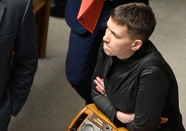 Nadezhda Sávchenko en Rada Suprema