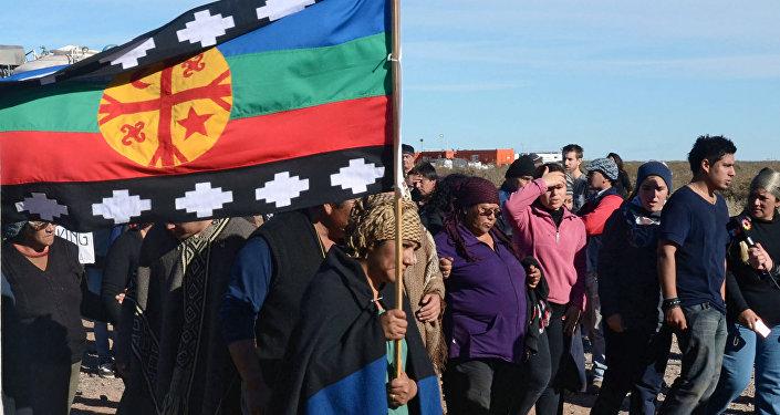 Protestas de la comunidad Mapuche