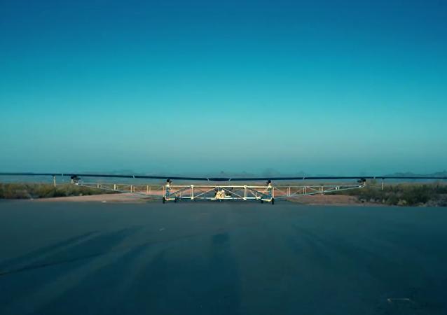 Internet conquista los cielos: Facebook ensaya su dron solar