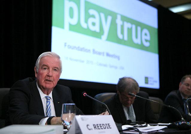 Craig Reedie, el presidente de la Agencia Mundial Antidopaje (WADA)