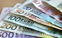 Euros. Archivo.